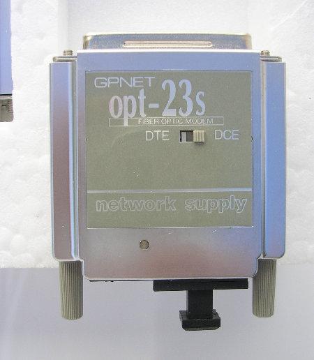 Network Supply GPNET OPT-23S Fiber Optic Modem,